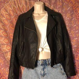brandy melville leather jacket